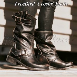 FreeBird by Steven 'Crosby' Black Boots